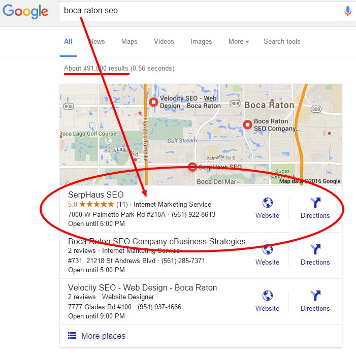 boca raton seo Google Search